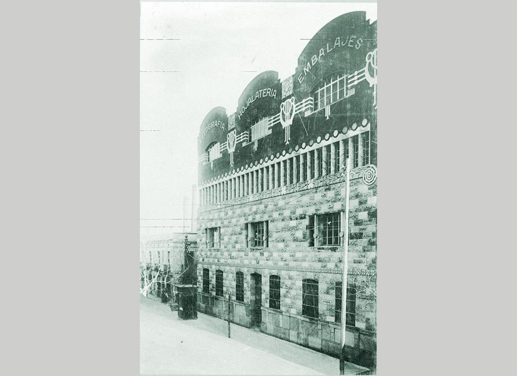Edifici modernista de La Llauna - Fàbrica G de Andreis - Badalona
