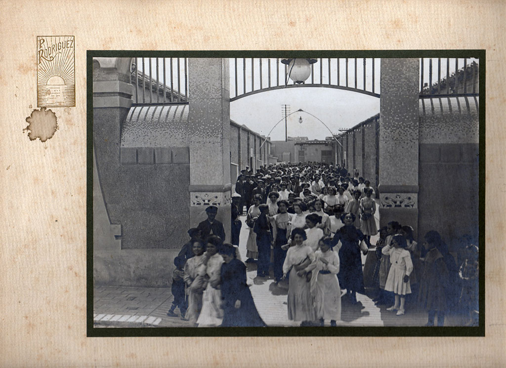 Treballadors de José Giró a Badalona - Can Casacuberta