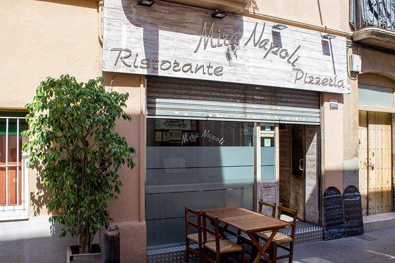Pizzería Mira Napoli - Turismo Badalona